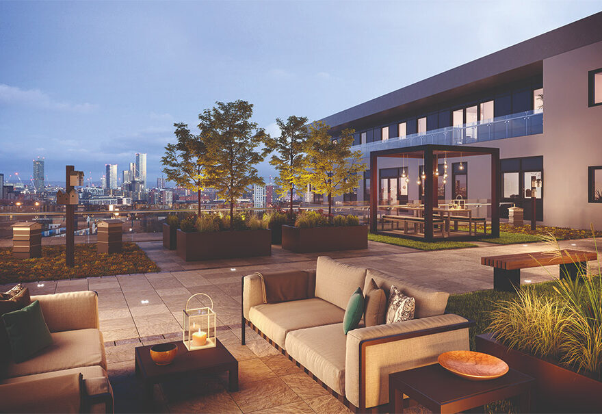 amplify apartments roof garden