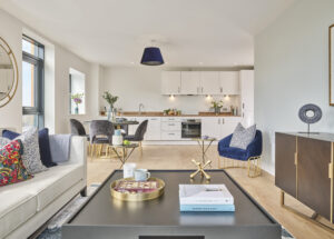 Image of the 2 Bedroom Show Home at Amplify Apartments. Amplify has apartments for sale in Salford Quays.